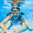 Underwater girl — Stock Photo #45605273