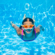 Underwater girl — Stock Photo #45605461