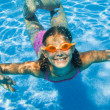 Underwater girl — Stock Photo #45630471
