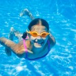 Underwater girl — Stock Photo #45634225