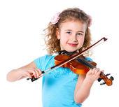 Little violinist — Stock Photo