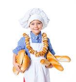小面包师. — 图库照片