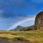 Rainbow. Iceland. — Stock Photo #49470799