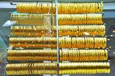 Gioielli d'oro nel gran bazar — Foto Stock