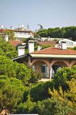 Modern villas — Stock Photo