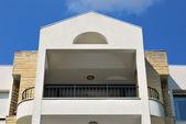 Villa and balcony — Stock Photo