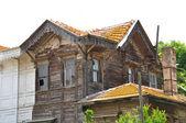 Ville di legno vecchi — Foto Stock