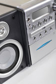 Compact stereo system — Stock Photo