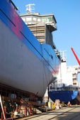 Shipbuilding — Stock Photo