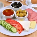 Breakfast plate — Stock Photo #49484691