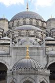 Mosque and minaret — Stock Photo