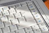 Laptop keyboard — Stock Photo
