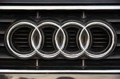 Audi symbol — Stock fotografie