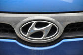 Hyundai symbol — Stock Photo
