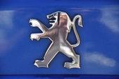 Peugeot symbol — Stock Photo