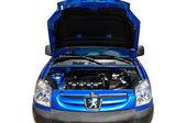 Peugeot auto služby — Stock fotografie