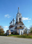 Church Cristmas Presvyatoy Virgin maries in settle Troickoe Tatarovo — Stock Photo