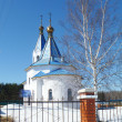 Stock Photo: Church Smolenskoy icons Bozhiey Full-grown in village of stations Mstyora
