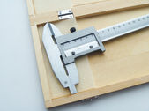 Measuring instrument for locksmith and turner — Stock Photo