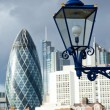 Lamp of the Tower and City of London — Stock Photo