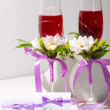 Royalty-Free Stock Photo: Two wedding glasses