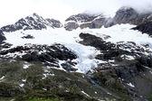 Cambrenagletscher at the Bernina Pass — Stock Photo