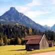 The Allgaeu in autumn — Stock Photo
