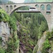 Bridge over a gorge — Stock Photo #14248565