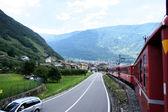 Ride to Tirano, Italy — Stock Photo