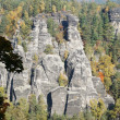 Bizarre rock formations — Foto Stock