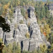 Bizarre rock formations — Stockfoto