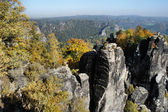 The Saxon Switzerland in autumn — Stock Photo