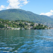 On Lake Maggiore in Ticino, Switzerland — Stock Photo