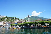 Ascona at Lake Maggiore, Switzerland — Stock Photo