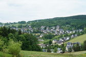 Village in the Erzgebirge, Germany — Stock Photo