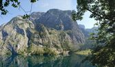 Panorama at the Obersee in Bavaria, Germany — Stock Photo