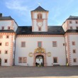 Stock Photo: Courtyard of Augustusburg Castle in Saxony