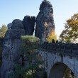 Royalty-Free Stock Photo: The Bastei-Bridge in the Saxon Switzerland, Germany