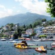 Ascona at Lake Maggiore, Switzerland — Stock Photo #21455711