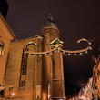 The St.-Annen-Church in winter - Stock Photo
