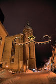 The St.-Annen-Church in winter — Stock Photo
