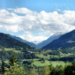 Rhine Valley in Graubunden, Switzerland — Stock Photo