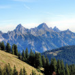 Tyrolean mountains — Stock Photo