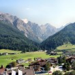 Landscape in the Stubai Valley in Tyrol, Austria — Stock Photo