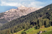 The Serles in the Stubai Valley — Stock Photo