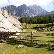 Mountain landscape in South Tyrol, Italy — Stock Photo