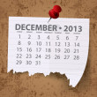 Calendar for 2013 vector — Stock Photo #13847155