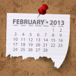 Calendar for 2013 vector — Stock Photo #13847162