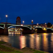 Frankfurt am Main at night — Stock Photo #12004457