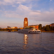 Frankfurt city before sunset — Stock Photo #12004724